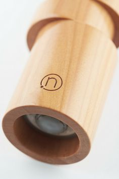 """""""Devil's in details"""". Close up of a cherry wood OFF-AXIS pepper mill model. By neotus."""