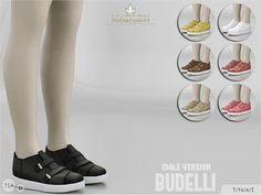 The Sims Resource: Madlen Budelli Shoes by MJ95 • Sims 4 Downloads