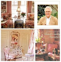 Charles Faudree - an icon of French Country interior design!