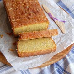 Almond Citrus drizzle cake