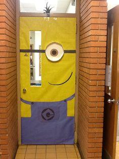 Minion classroom door