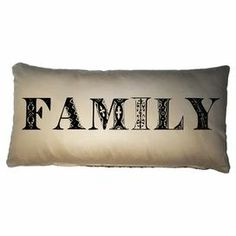 """Cotton pillow with a khaki finish and typographic motif.  Product: PillowConstruction Material: CottonColor: KhakiFeatures: Insert includedDimensions: 10"""" x 20""""Cleaning and Care: Dry clean only"""