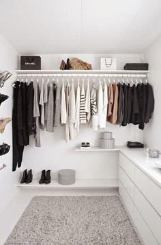 Inspiración vestidores | Decorar tu casa es facilisimo.com                                                                                                                                                     Más