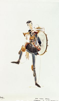 Mary Poppins production artwork