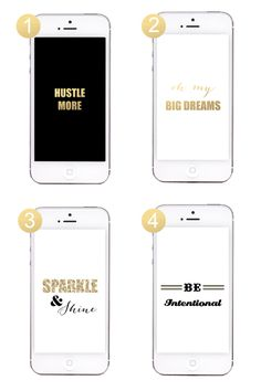 New Free iPhone Wallpaper Downloads - Inspirational and perfect to kick off the new year!