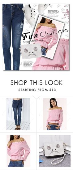 Grab and Go: Cute Clutches by svijetlana on Polyvore featuring moda, clutches, polyvoreeditorial and twinkledeals