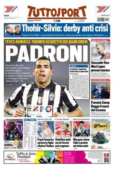 Juventus Tevez Padroni scudetto 2015 campioni