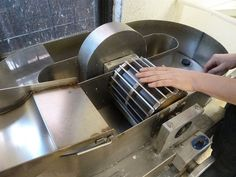Hollander beater in Papermaking by Simon Goode, via Flickr