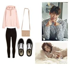 """""""Bo Mi's casual wear"""" by pantsulord on Polyvore featuring Lee and Vans"""