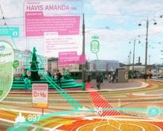 Augmented Reality Signs Could Overlay Personal Maps On The Road Ahead