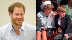 Prince Harry says he didn't talk about Diana's death for the first 28 years of his life