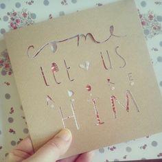 christmas card | origamiest.co.uk