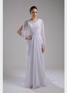 Nice maternity wedding dresses with long sleeves