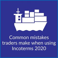 Incoterms are a helpful shorthand traders can use to specify who carries the risk and cost of shipping goods internationally, and at which point it transfers. The latest edition, Incoterms 2020, is the most user friendly version yet. There are still, however many pitfalls importers and exporters should be aware of before writing an Incoterm into a sales contract.  #Incoterms #ImportExport #Freight Meant To Be, Packing, Success, Writing, Bag Packaging, A Letter, Writing Process