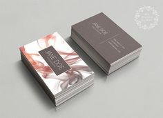 Modern busieness card template, premade business card design, custom business card template, smoke business card feminine, elegant abstract