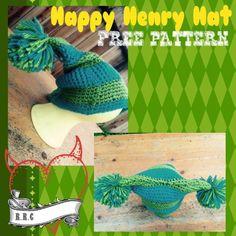 Happy Henry Hat - The Yarn Box The Yarn Box