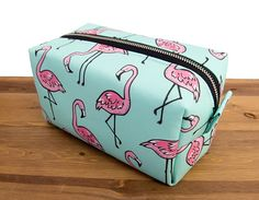 Bolsa Flamingo  maquillaje flamenco bolsa  accesorios de
