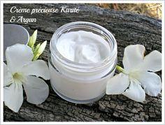 Crème précieuse karité et argan - Homemade Beauty, Diy Beauty, Homemade Primer, Face Treatment, Natural Beauty Tips, Natural Cosmetics, Body Butter, Body Care, Food Hacks