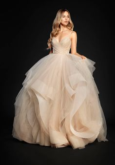 Stardusted tulle ball gown | Hayley Paige | http://trib.al/N2LHENc