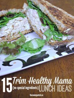 Eat Healthy The Trim Healthy Mama plan is so easy to adapt to your existing meals. It's just a matter of switching out some ingredients (and getting rid of that sugar - FREE 15 Trim Healthy Mama Lunches Printable Trim Healthy Mama Diet, Trim Healthy Recipes, Thm Recipes, Healthy Snacks, Budget Recipes, Cream Recipes, Keto Snacks, Lunch Recipes, Breakfast Recipes