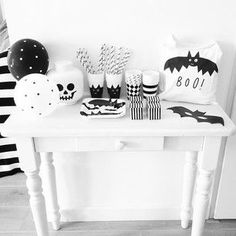halloween party table ☆