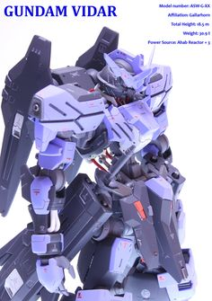 Custom Build: 1/100 Full Mechanics Gundam Vidar [Detailed] - Gundam Kits Collection News and Reviews
