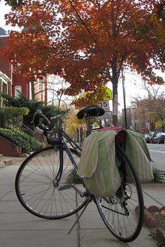 Sew yourself bike panniers (tips)