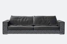 Lomond Sofa #Versace #VersaceHome #PalazzoCollezioni