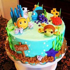 Awesome Nemo cake