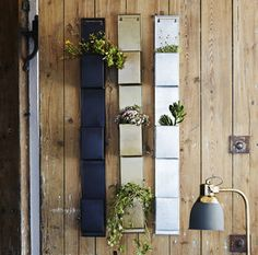 Wall Hanging Pocket Organiser @ notonthehighstreet.com  i could make one of these - use strong canvas