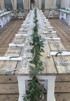 Table garland from summer wedding Table garland from summer we., Table garland from summer wedding Table garland from summer wedding. Wedding Table Garland, Summer Wedding Centerpieces, Wedding Table Centerpieces, Wedding Table Settings, Flower Centerpieces, Table Wedding, Centerpiece Ideas, Wedding Summer, Wedding Garlands