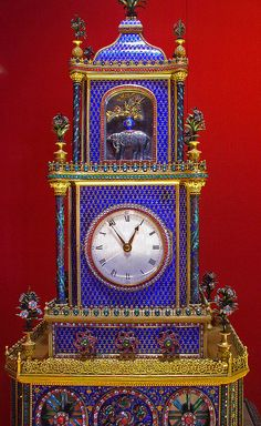 Clock Museum, Forbidden City, Beijing. One of the many elaborate clocks on show (some working) at the Clock Museum that is part of the Forbidden City, Beijing, China