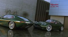 """Growler """"E-Type"""" - I think this may seriously be the prettiest car ever"""