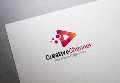 Creative Channel Logo by XpertgraphicD on Creative Market