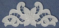 tryout in Art&Stitch Basic Embroidery Stitches, Cutwork Embroidery, Hand Embroidery Designs, Applique Designs, Embroidery Patterns, Drawn Thread, Point Lace, Stencil Designs, Needlework