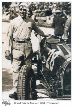 Tazio Nuvolari. 1934 GP Monaco