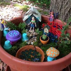 Fairy Garden fun idea to do with kids maybe