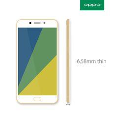 #OPPO #mobile #thin #phone #god #design #layout #clean #r9s #product #australia #emchengillustration
