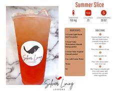 Mango Green Tea, Green Tea Drinks, Summer Drinks, Herbalife Recipes, Herbalife Products, Herbalife Nutrition, Limeade Drinks, Raspberry Drink, Peach Ice Tea