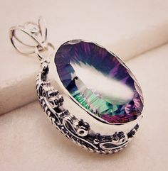 #fashionjewelry #yes #im #time #pug #women #beadembroidery #pendant #silver #gemstone #quartz #mystic #handmade #gems #jewelry #riyo #loveya #ouch #indianjewelry