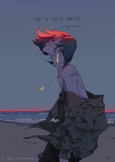 """Is Tough, But Keep Going"""": Colorful And Sunny Illustrations By Xi Zhang """"Life Is Tough, But Keep Going"""": Colorful And Sunny Illustrations By Xi ZhangIS IS may refer to: Pretty Art, Cute Art, Aesthetic Art, Aesthetic Anime, Character Inspiration, Character Art, Art Sketches, Art Drawings, Art Manga"""
