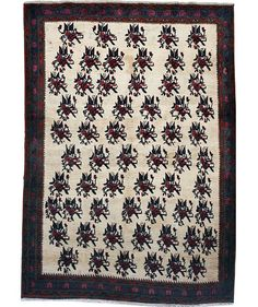 Tapete Shar-e-Babak – 2,28m x 1,66m -  #tapetepersa #decoração #casa