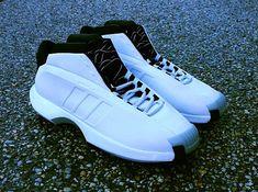 adidas Crazy 1   White   Black