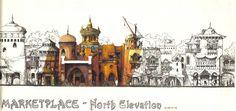 theme park concept sketch - Google 검색
