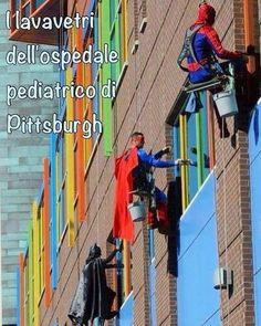 #hospital #pediatric idea geniale a #pittsburgh i lavavetri dell'Ospedale pediatrico sono così