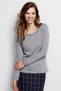 Women's+Embellished+Top+from+Lands'+End