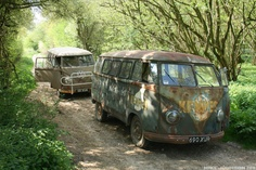 cool old buses