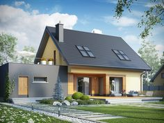 Gotowy projekt domu AF7-15 Pracownia Dom.pl
