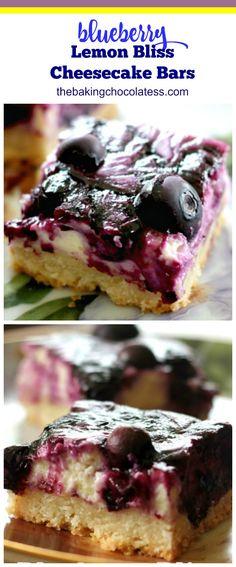 Blueberry Recipes, Fruit Recipes, Baking Recipes, Dessert Recipes, Bar Recipes, Cream Recipes, Zuchinni Cake Recipes, Pumpkin Cake Recipes, Lemon Desserts