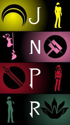 RWBY - Team JNPR iPhone Background by Areyoucrazee.deviantart.com on @deviantART